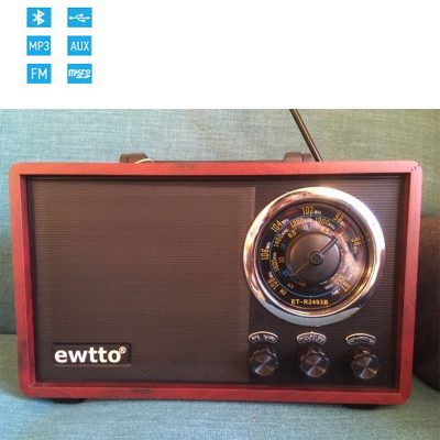 RADIO RETRO VINTAGE BLUETOOTH