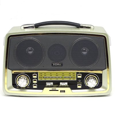 RADIO BLUETOOTH ESTILO VINTAGE
