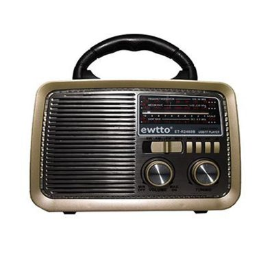 mini radio estilo retro vintage bluetooth