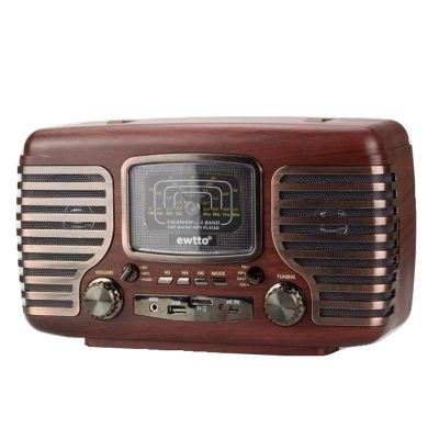 radio parlante retro o vintage bluetooth