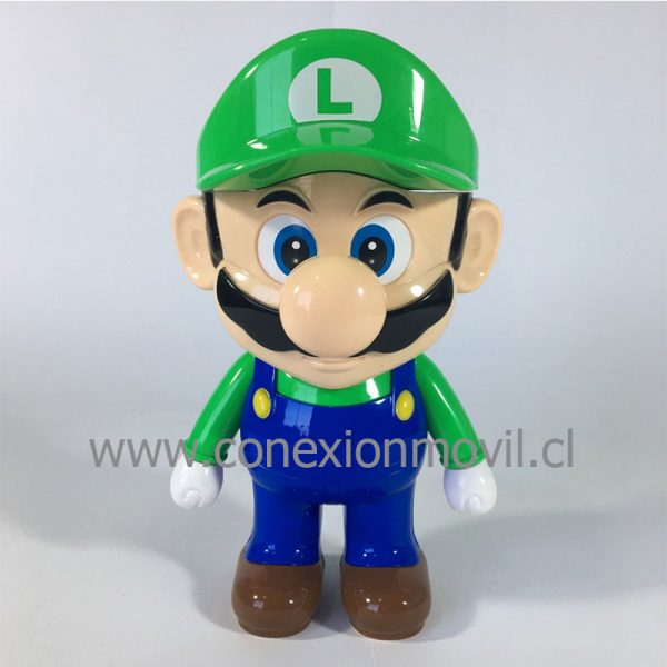 LAMPARA LED RECARGABLE LUIGI DE MARIO BROS
