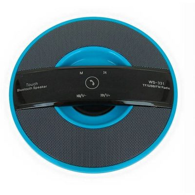 parlante portatil bluetooth azul