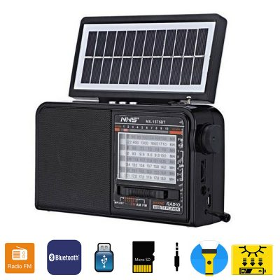 Radio(Recargable) con Panel Solar
