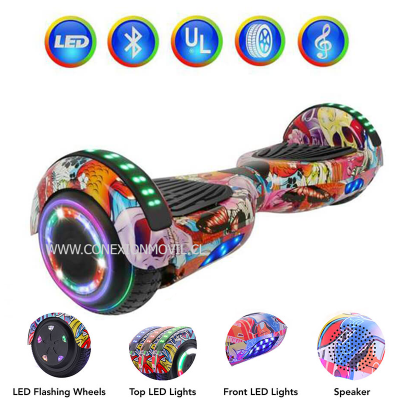 SMART BALANCE (HOVERBOARD) 6,5″ FLOWER