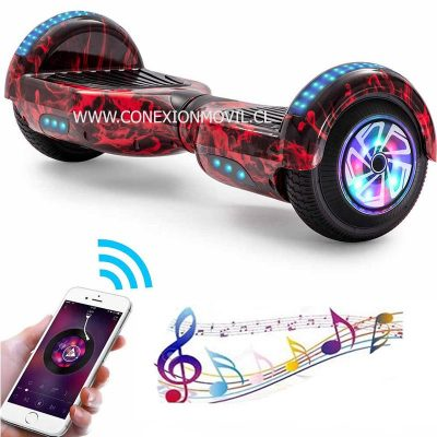 smart balance hoverboard flame